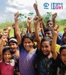 """국제아동후원기구 플랜인터내셔널의 오랜 Because I am a girl캠페인의 결과 10월 11일 UN 에 의해 지정된 """"세계 여자아이의 날""""이 첫해를 맞이한다."""