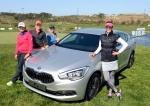 기아자동차㈜는 오는 19일부터 21일까지 인천 스카이72 골프클럽에서 개최되는 국내 유일의 미국여자프로골프(LPGA) 투어 대회인 'LPGA 하나외환 챔피언십'을 후원한다. 사진은 대회에 참가하는 청야니 선수(왼쪽부터), 수잔 패터슨 선수, 크리스티 커 선수, 미셸 위 선수.