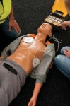 "Mediana Co., Ltd. carried out CPR training at the experience site of the ""43rd Korea Electronics Show"""