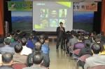 정문섭 성공자치연구소장이 29일 오전 경북 영주시청 강당에서 '성공한 자치단체는 이유가 있다'를 주제로 특강을 가졌다.
