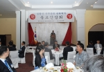 아셈(ASEM)회의 참석차 라오스를 방문한 김황식 국무총리가 첫 일정으로 라오스에 거주하는 동포들과 간담회를 가졌다.