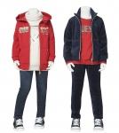GUESS KIDS, 실내에서도 돋보이는 겨울 방학 패션 제안