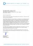 오메르 사반치 덴사그룹 회장이 STX조선해양에 보낸 감사 편지