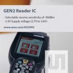 ams (지사장: 이종덕, www.ams.com)는 인터멕(www.intermec.com)의 휴대용 컴퓨터 70 시리즈에 AS3993 UHF 수신칩을 장착했다고 밝혔다.