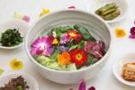 웰빙 봄꽃 비빔밥