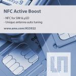 ams, µSD와 µSIM 카드 지불 거래를 가능케 하는 NFC 태그 프론트엔드 출시
