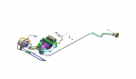라페라리에 장착된 델파이 에어컨시스템