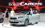 기아자동차㈜는 28일(목) 킨텍스(KINTEX, 경기도 고양시 소재)에서 개막한 2013 서울모터쇼(Seoul Motor Show 2013) 프레스데이 행사에서 '올 뉴(All New) 카렌스'를 공식 출시했다.