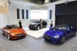BMW 코리아 아시아 프리미어 모델 공개: 좌측부터 BMW 뉴 Z4, 뉴 3시리즈 그란 투리스모, 뉴 M6 그란 쿠페