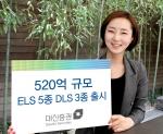 대신증권이 ELS 5종 DLS 3종을 출시한다.