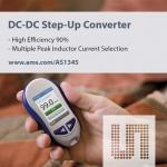 ams (지사장: 이종덕, www.ams.com)는 모바일 제품에서 소형, 중형, 대형 디스플레이용 전력공급 설계를 통해 고효율을 유지하는 소형 스텝업 DC-DC 레귤레이터인 AS1345를 출시했다고 밝혔다.