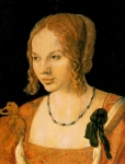  (Albrecht Durer)    (Portrait of Young Venetian Women)