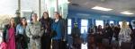 DMZ를 찾은 외국인 관광객들