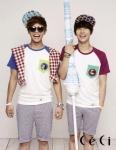 패션 매거진 쎄씨(CeCi)가 유닛그룹 제아파이브로 활동하고 있는 시완, 동준이 함께 한 6월 화보를 공개했다.