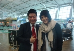 할리우드 스타 제시카 알바는 코스모진 여행사를 통해 서울 관광에 나섰다.
