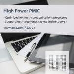 ams는 혁신적인 원격 피드백 회로를 갖춘 전력 관리 IC(PMIC)인 AS3721을 출시했다.