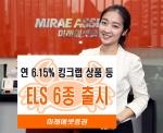 미래에셋증권은 금융투자협회로부터 독창성을 인정받아 4개월간 배타적 사용권을 취득한 킹크랩 ELS를 포함한 파생결합증권 6종을 총 500억 규모로 판매한다.