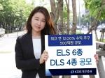 KDB대우증권(사장 김기범)은 최대 연 10.40%의 수익률을 추구하는 ELS 포함 6종과 최대 연 12.00%의 수익률을 추구하는 DLS 포함 4종을 4일(화)부터 공모한다.