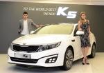 기아자동차는 13일(목) 서울 강남구 압구정동에 위치한 기아자동차 사옥에서 회사 관계자 및 자동차 담당 기자단 등이 참석한 가운데 중형 세단 더 뉴 K5의 사진발표회를 가졌다.