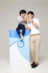 테트라팩 스마트 솔루션 캠페인 홍보대사로 선정된 이종혁-이준수 부자
