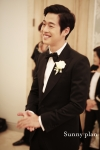 6월28일 오후 6시 더 라움에서 결혼식을 한 배우 김재원 (사진제공: 써니플랜, 써드마인드)