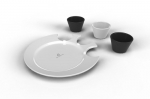 무한상상 국민창업 프로젝트를 통해 개발된 곰발 접시