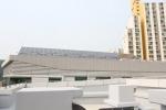 금천종합복지센터 태양광 집열판