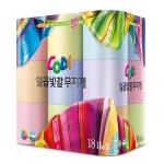 쌍용C&B는 일곱 가지 파스텔 색상으로 자녀의 창의력 발달에 도움을 줄 수 있는 감성티슈 코디 일곱빛깔무지개를 출시했다.