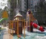 신봉센트레빌에 어린이 물놀이터가 설치된다.