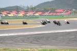 영암 F1경주장에서 개최된 국내 모터사이클의 최고 대회인 'KMF 코리아 로드레이스 챔피언십' 3전