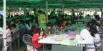 -지난해 제4회 자원순환의 날 그림그리기 대회 진행모습-