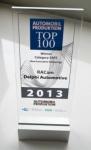 델파이 레이캠이 2013년 오토모빌 프로덕션 안전부문 혁신상을 수상했다.