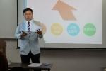 한국관광서비스평가원 김진수 대표는 서비스 업종 모니터링 전문가 양성 교육을 적극적으로 확대해 나가고 있다.
