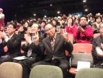 행복한 윈윈십 연구원 강사들이 모임을 갖고 있다.