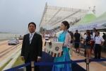 대한체육회 양재완 사무총장은 2013 충주세계조정선수권대회 한국선수단을 격려했다.