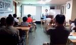부산진장애인자립생활센터는 행복지도사 창시자 김용진 교수를 특별 초청하여 부산진장애인자립생활센터와 관련된 지역 유지들에게 행복지도사 3급 직무교육을 실시하였다.