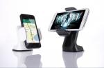 차량용 스마트폰 거치대 Dash Crab이 새로운 기능을 탑재해 9월 9일 출시된다. 메인제품 이미지 블랙, 화이트