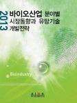 2013 바이오산업 분야별 시장동향과 유망기술 개발전략 보고서가 발간됐다.
