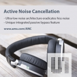 ams는 가청 잡음 없는 차세대 노이즈 제거 스테레오 헤드셋용 ANC 스피커 드라이버 (모델명: AS3435와 AS3415)를 출시했다고 밝혔다.