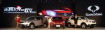 쌍용자동차가 급성장하고 있는 중국 SUV시장 공략 강화를 위해 뉴 코란도 C를 출시하고 새롭게 렉스턴 W와 코란도 투리스모를 선보이는 대규모 신차발표 및 시승행사를 개최했다고 27일 밝혔다.