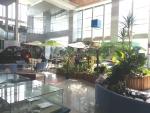 포항시청 2층 로비가 시민휴게공간으로 조성됐다.