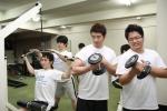 직원 다이어트 프로젝트를 통해 사내에서 체력단련을 진행하는 현대엠엔소프트 직원들
