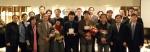 2012년 투명사회상 수상자가 기념촬영을 하고 있다.