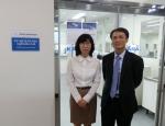 좌로부터 우미자 한국과학기술원 중앙분석센터장, 박원규 한국애질런트 화학분석사업부 영업 매니저
