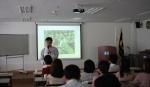 박영만 마케팅홍보연구소장이 영업 판매 홍보마케팅을 강의하고 있다.
