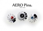"DAISHIN's 5-Axis Machined Solid Pin Badge Online Shop ""AEROPins"" Grand Open!"