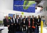 독일S+S사는 글로벌 화학 전시회 K2013에 참가해 플라스틱가공 산업에 사용되는 금속검출 및 분리설비, 플라스틱회수 산업에 사용되는 선별시스템을 전시했다.