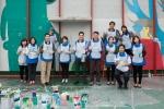 삼성카드는 CGV와 함께 아이들이 안전하게 뛰어놀 수 있는 공간 마련을 위해 구세군 서울후생원에 옥상 놀이터를 마련하였다. 지난 10월 28일에는 삼성카드 임직원들이 서울후생원을 찾아 놀이터 벽면에 벽화를 그리는 재능기부 봉사활동을 진행하기도 했다.