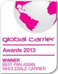NTT Communications Named Best Pan-Asian Wholesale Carrier at Capacity Global Carrier Awards 2013