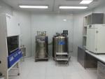 무균 줄기세포 재생치료 연구소 내부전경. 줄기세포의 분리와 극저온 냉동보관이 이뤄진다.